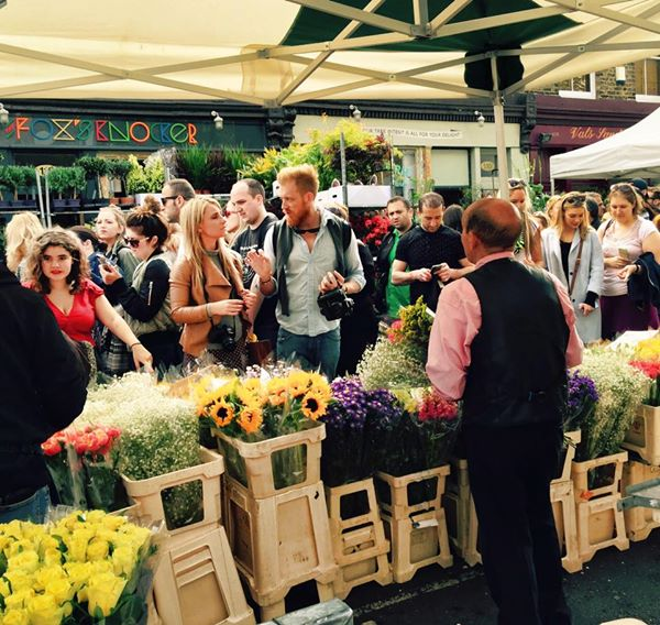 Mercados de Londres: Columbia Road Flower Market