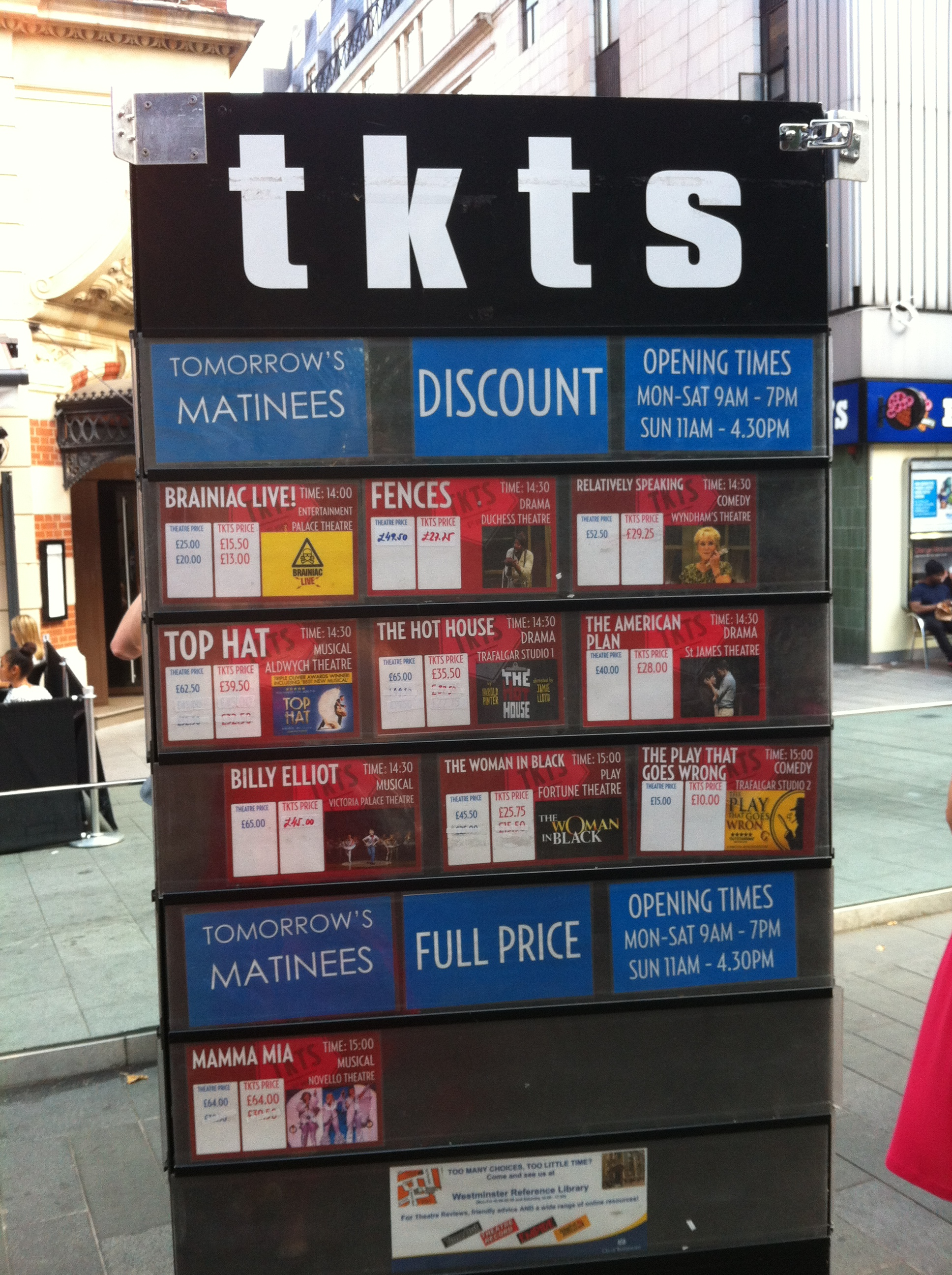 TKTS Leicester Square