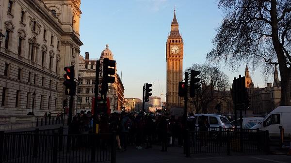 Chegando no Big Ben de St James Park