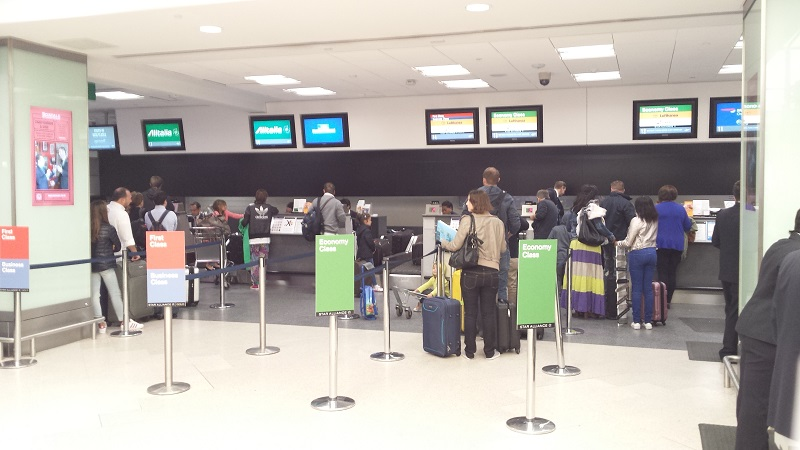 London City Airport check in2