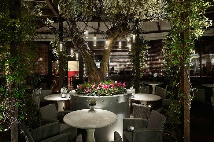 Restaurante: jardim secreto