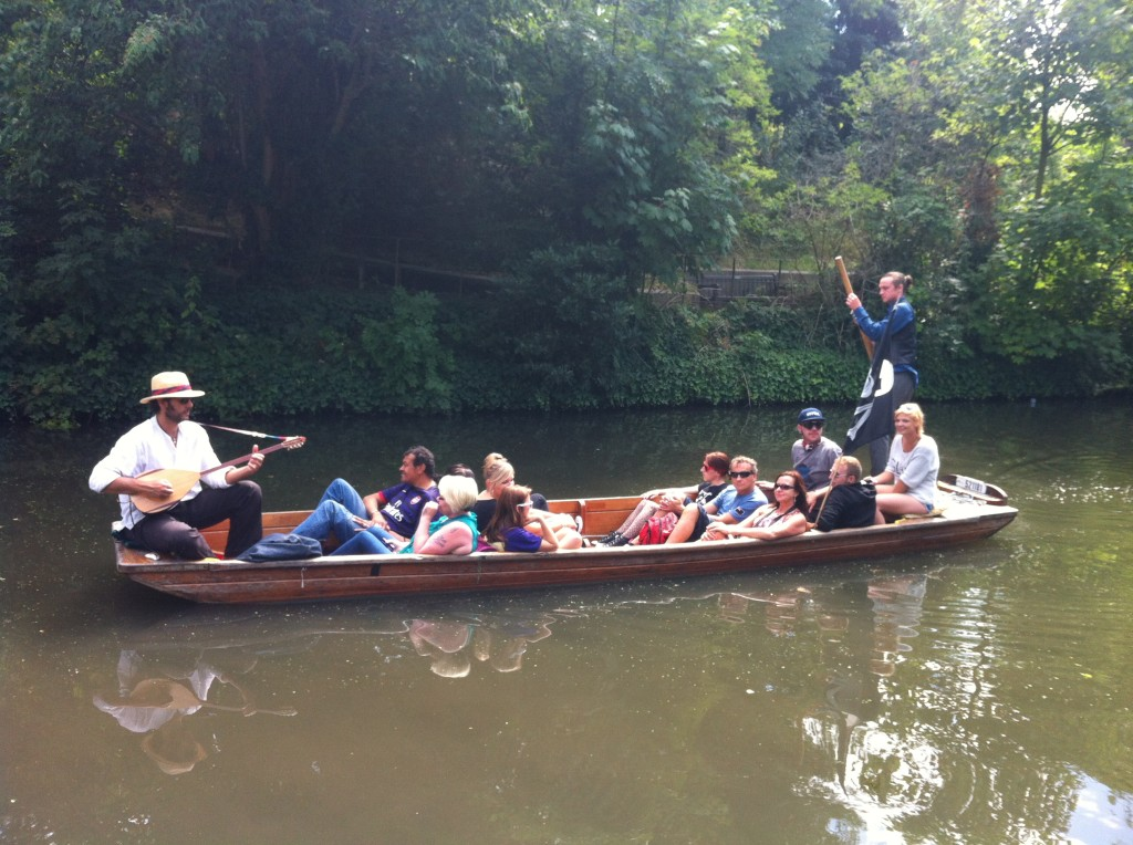Punting no Regents canal