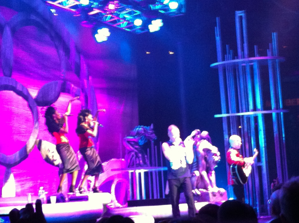 Show do Erasure em Londres em 2011