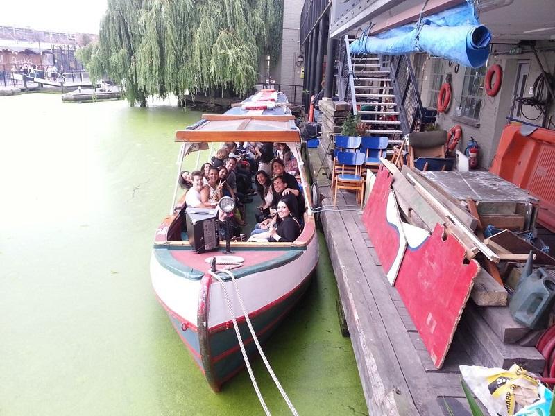 Passeio de barco de Little Venice a Camden Town