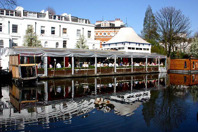 Retaurante Summerhouse em Little Venice, super dica de Londres