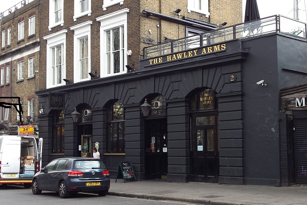 Pub-Hawley-Arms-Londres