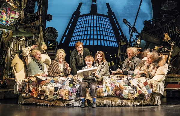 The cast of Charlie and the Chocolate Factory. Photography by Helen Maybanks rs